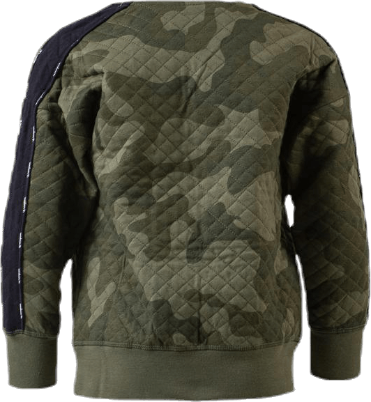 Crewneck Sweatshirt Patterned/Green