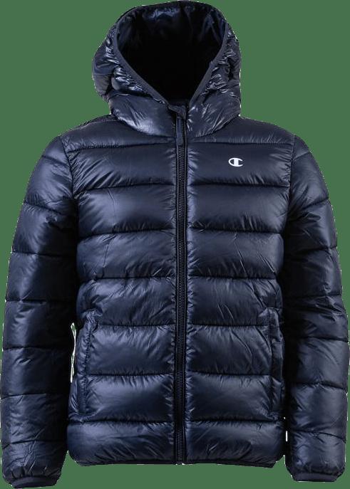 Jr Hooded Jacket Blue