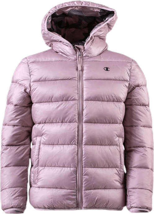 Jr Hooded Jacket Pink/Patterned
