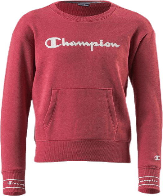 Girls Crewneck Sweatshirt Red