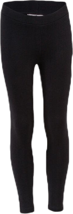 Girls Big Logo Leggings Black