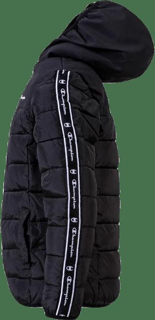 Girls Hooded Jacket Black