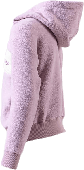 Jr Hooded Polar Fleece Purple