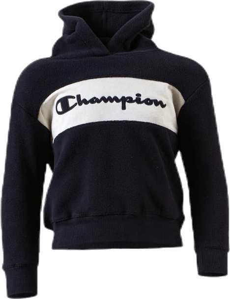 Jr Hooded Polar Fleece Black