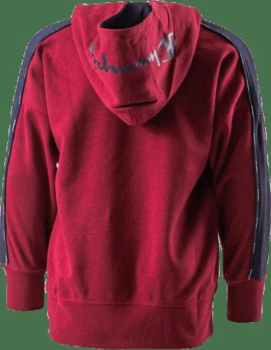 Jr Oversize Hoodie Red