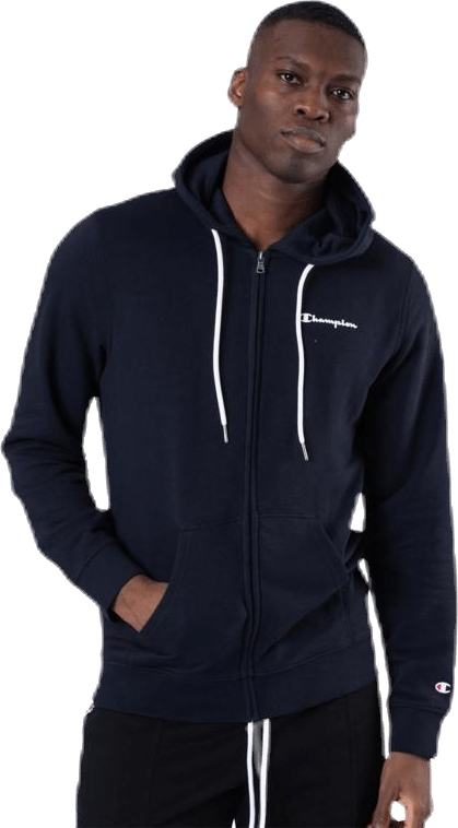 Hooded Full Zip Sweatshirt Blue