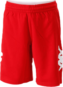 Logoshorts White/Red