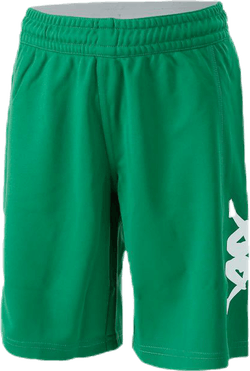 Logoshorts White/Green