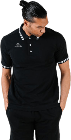 Maltax Polo S/S White/Black