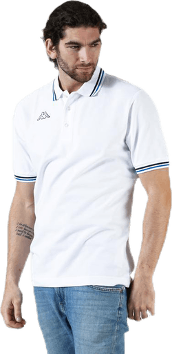 Maltax Polo S/S Blue/White