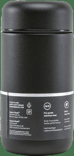 Food 18oz (532ml) Black