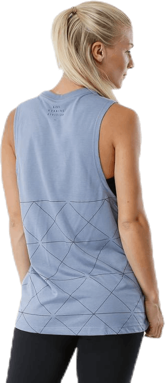 Muscle Run Tank Grey