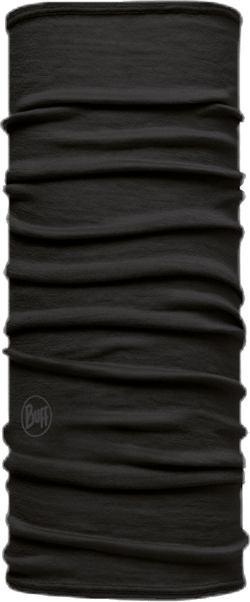Merino Wool Kids Buff Black