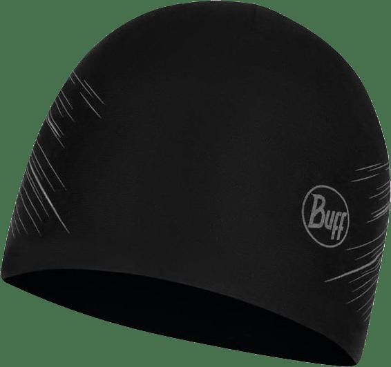 Microfiber Reversible Hat Black