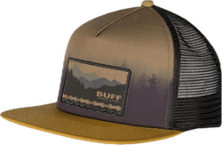 Trucker Cap Flat Visor Brown