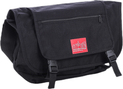 Willoughby Messenger Bag Black