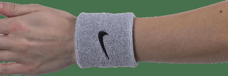 Swoosh Wristband Black/Grey