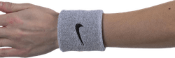 Swoosh Wristband Black/Grey