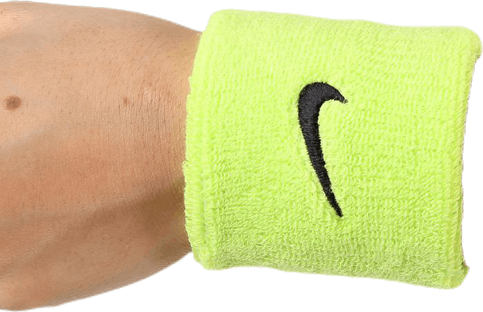 Swoosh Wristband Black/Green