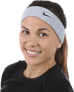 Swoosh Headband Black/Grey