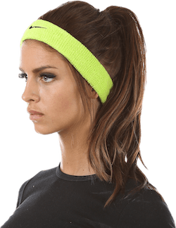 Swoosh Headband Black/Green