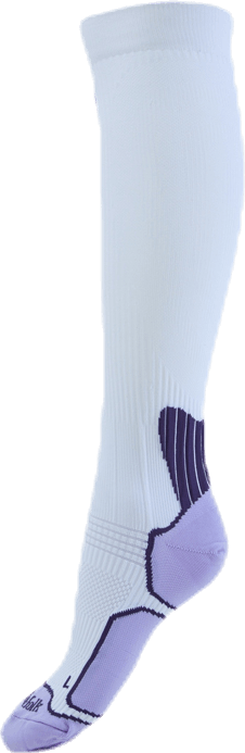 Benoit - Running Compression Sock White
