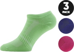 Low Cut Socks - Minnie 3-Pack Purple