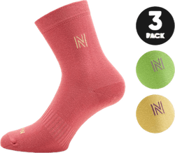 3-Pack Casual Socks - Victoria Purple
