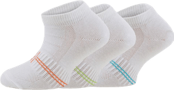 3-Pack Kids Basic Socks - Yogi White