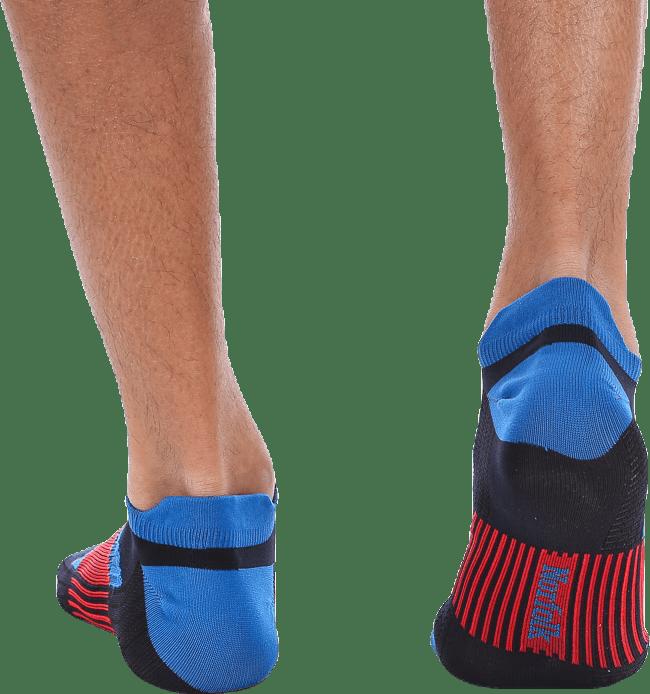 Sebastian Thin Running Sock Low-cut Blue/Black