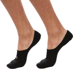Lenny 2-pack Invisible Socks Men Black