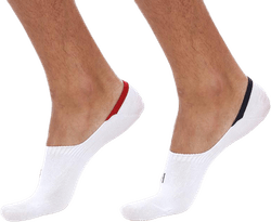 Lenny 2-pack Invisible Socks Men White