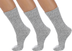 Ragg Socks - 3-Pack Wool Grey
