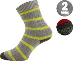 2-Pack Basic Socks - Mario Green