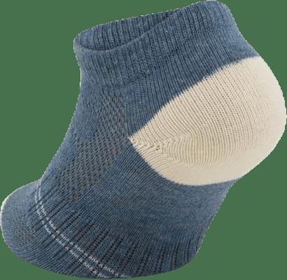 3-Pack Kids Basic Socks - Yogi Blue/Grey