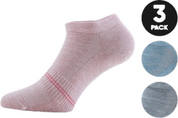 Low Cut Socks - Minnie 3-Pack Pink