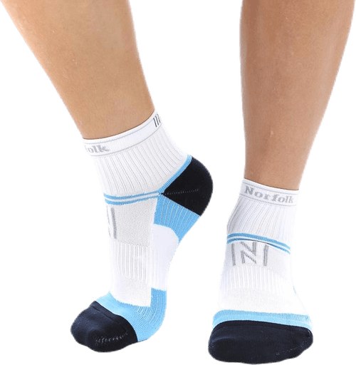 Anna Multisport Sock Blue/White
