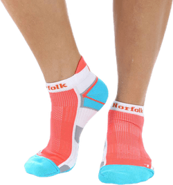 Joyner low-Cut Running socks Blue/Red