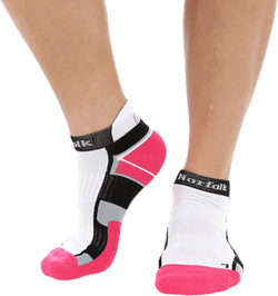 Joyner low-Cut Running socks Pink/White