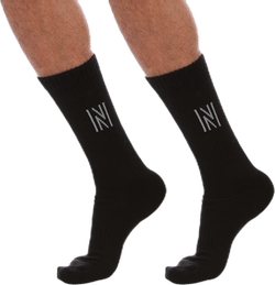 Barkley - 2-pack Premium Tennis Socks Black