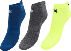Izzy 3-Pack Running Socks Patterned
