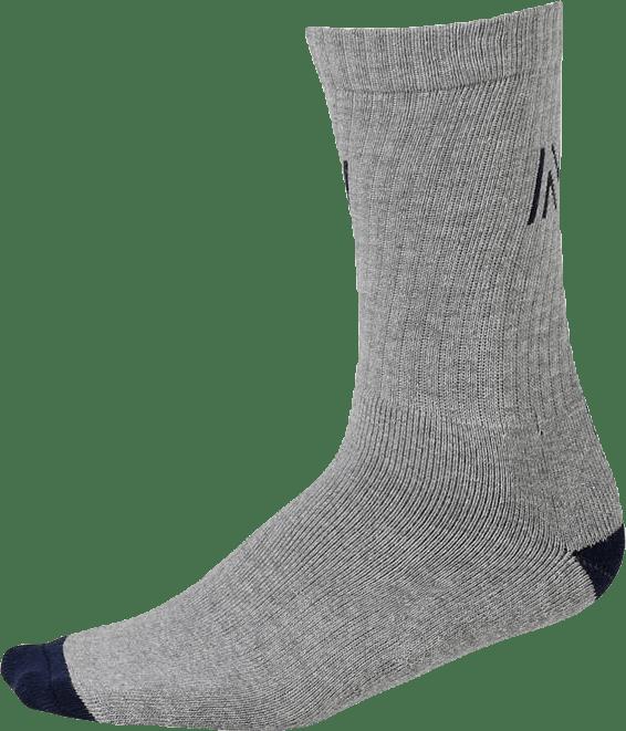 Barkley - 2-pack Premium Tennis Socks Blue/Grey
