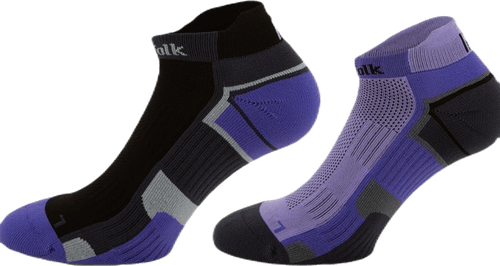 2-Pack Running Socks - Lewis Purple/Black