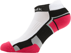 2-Pack Running Socks - Lewis Pink/White/Black