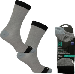 Stealth- 2-pack Base Layer Socks Grey