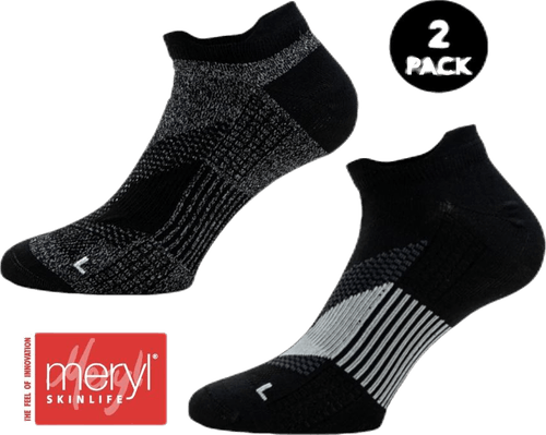 2-Pack Running Socks - Thomas Black