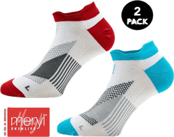 2-Pack Running Socks - Thomas White