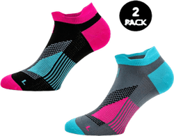 2-Pack Running Socks - Thomas Pink