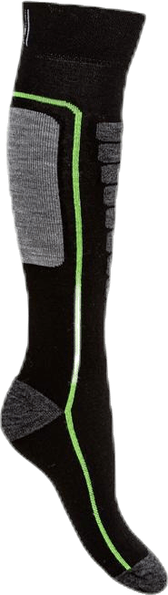 Courchevel - Ski and Snowboarding Socks w Merino Wool Black