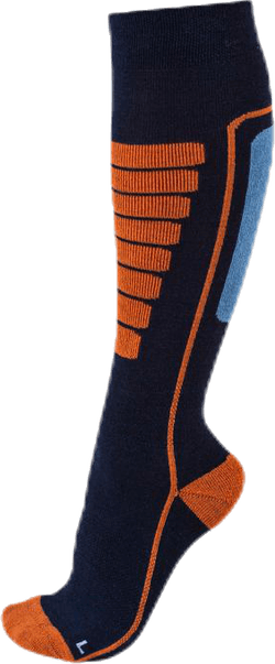 Courchevel - Ski and Snowboarding Socks w Merino Wool Blue